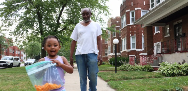 Chicago's Chatham neighborhood is one of a few South Side communities seeing a drop in younger residents. Some community members are trying to attract young people back to the area.