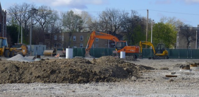 Groundbreaking has begun for the Englewood Whole Foods at 63rd and Halsted.