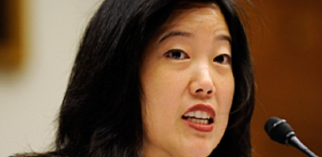 Michelle Rhee compares D.C. and Chicago public schools