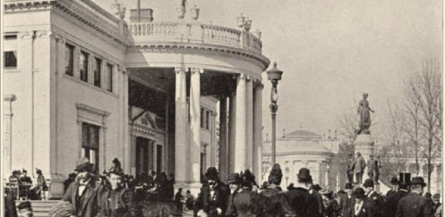 The Ohio State building from the Columbian Exposition of 1893 in Chicago.