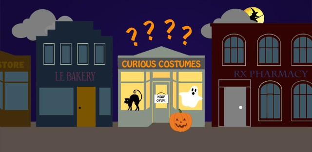 Halloween Of Halloween.How Vacant Storefronts Rise From The Dead As Halloween