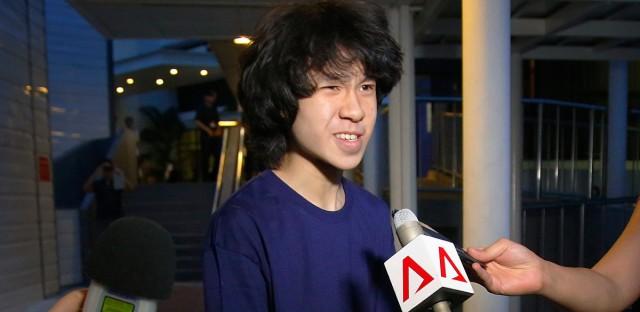Singapore teen blogger Amos Yee