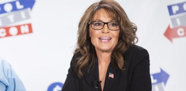 Sarah Palin seen at Politicon 2016 at The Pasadena Convention Center on June 26, 2016, in Pasadena, Calif.