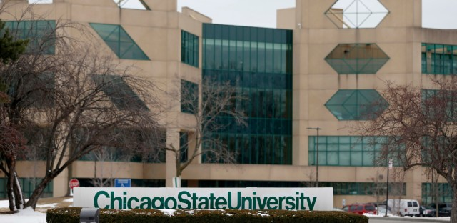 Officials at Chicago State University last year declared a financial emergency at the school that largely serves black students.