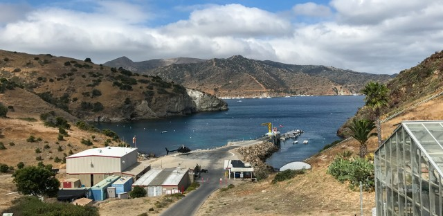 The Wrigley Marine Science Center is located 20 miles off the coast of Los Angeles, on Santa Catalina Island.