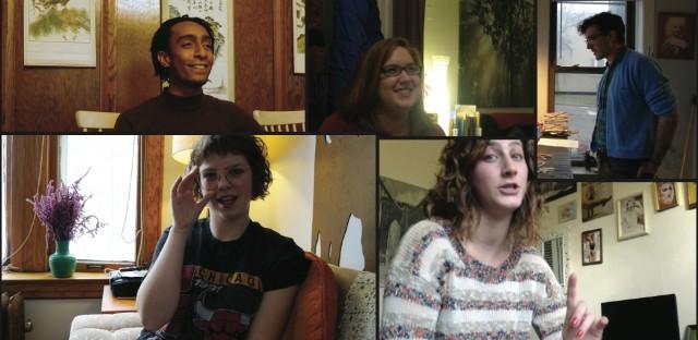 Clockwise from top left; Davonte Johnson, Adelina Trevino Bradshaw, Mike Oleon, Julia Solomon and Katy Albert.