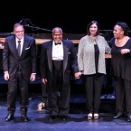 Bill Charlap, Willie Pickens, Renee Rosnes and Bethany Pickens performed at the Kennedy Center in Washington for the annual public radio special A Jazz Piano Christmas.