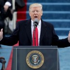 President Trump's joint address to Congress on Tuesday night is expected to strike a more optimistic tone than his inaugural address did last month.