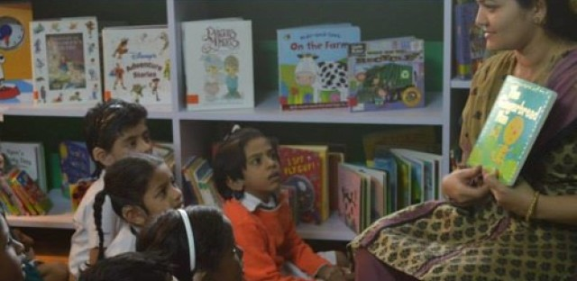 Global Activism: Creating libraries in India