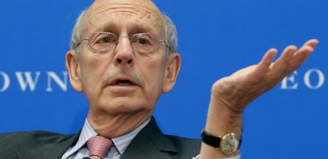 1A : Justice Stephen Breyer On A Changing Court Image