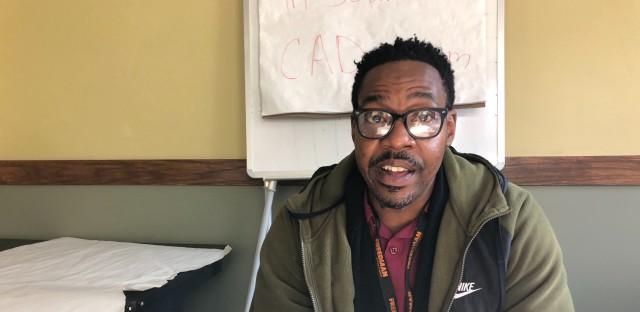 Saidrick Berry of READI Chicago