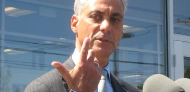 Emanuel defends proposed property-tax hike for schools