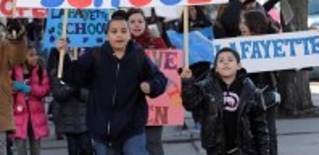 Public school closings cause tension