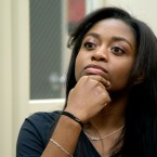 Shayanna Love, a 12th grade student at Whitney M. Young High School