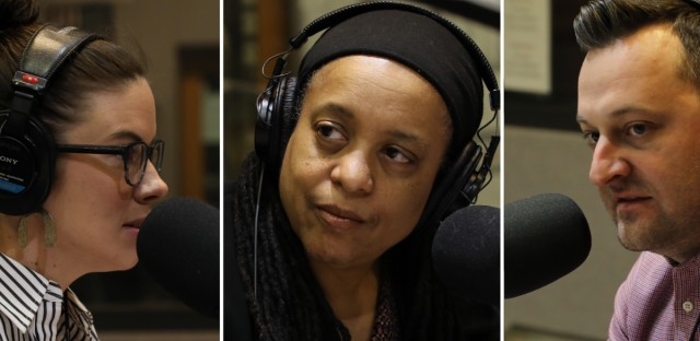 A.D. Quig of the Daily Line, Cheryl Corley of NPR, and Bill Ruthhart of the Chicago Tribune offered their thoughts during the Morning Shift's Friday News Roundup.