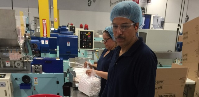 The Chinese company Fuling Plastic set up a plant in Allentown, Pa., last year. The company, which makes straws and other plastic products, supplies fast food chains like McDonald's, Burger King and KFC. Chinese companies are expected to invest about $30 billion in the U.S. this year, doubling the record set last year.
