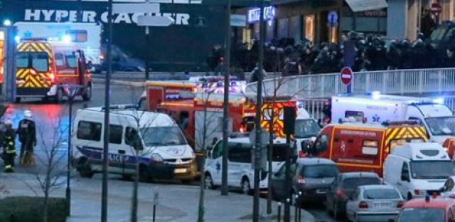 Reaction to new terrorist attacks connected to Charlie Hebdo massacre