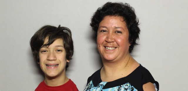 Tim Bannon came to StoryCorps booth at the Chicago Cultural Center with his mom, Linda.