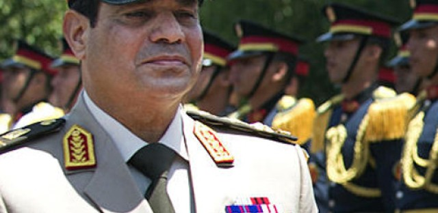 Egyptian army chief calls for new protests