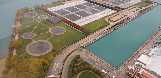 The Jardine Water Purification Plant is responsible for treating much of the tap water serving Chicagoans and area suburbs.