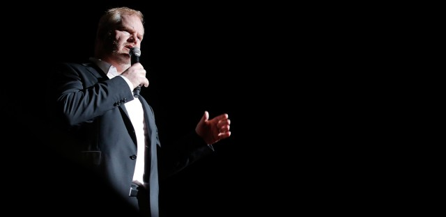 Ask Me Another : Jim Gaffigan: The Dad Bod Diet (R) Image