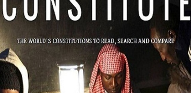 A new database lets you compare constitutions from Afghanistan to Zimbabwe