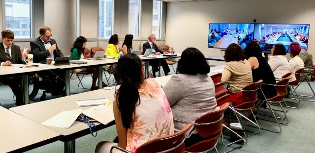 Members of the state's Census Advisory Panel, along with their staff, convened for the first time to discuss the strategy and timeline for Illinois' census outreach plan.