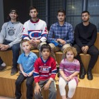 Some of the No-Fly List Kids. Aadam Ahmed is in the back row, second from the right, and his brother Yusuf is on the far left.