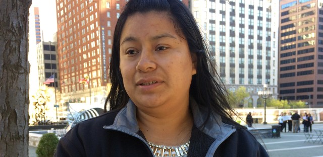 "Florinda Lorenzo came to the U.S. from Guatemala 14 years ago. She checks in with ICE regularly — a requirement stemming from a 2010 arrest, though the charges were later dropped. She says the check-ins have become ""painful and stressful"" because she's worried she will be detained."