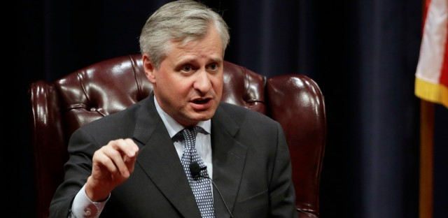 The newest book from Pulitzer Prize winning author Jon Meacham, seen here in 2015, highlights some of the more divisive moments in American history. (AP Photo/David J. Phillip)
