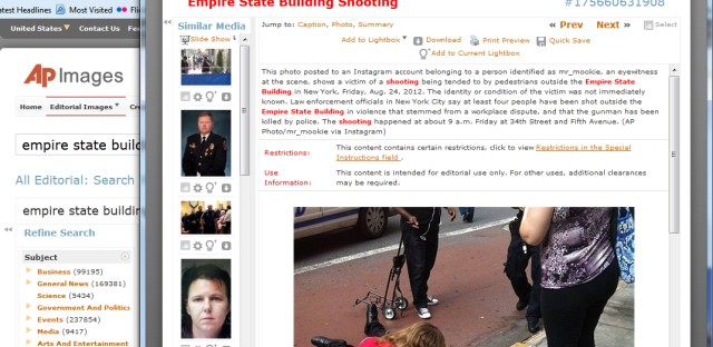 Empire State Building shooting leads to social media payday for one Instagrammer