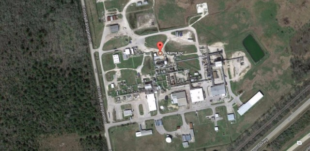 The Arkema plant in Crosby, Texas, is northeast of Houston. The company says it received reports of two explosions at the plant in the early hours of Thursday, Aug. 31.