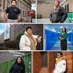 Portraits of various Chicagoans who have lived through a school shakeup in some form
