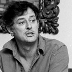 Frank Deford is shown here in 1984