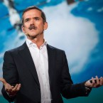 """""""The scairest thing I've done is ride a rocket ship to space"""" — Chris Hadfield"""