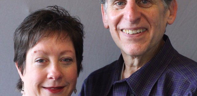 Judy Presta and Mark Geraci spoke to each other at the Invisible Institute in Chicago.