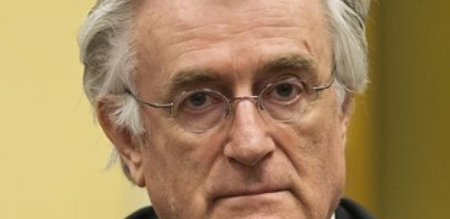 Karadzic says he takes 'moral responsibility' for crimes committed, but denies ordering killings