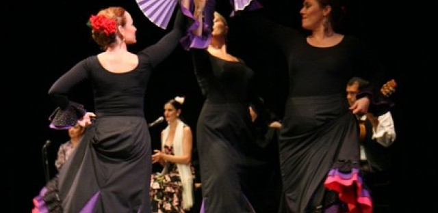 Las Compañeras Dance Company, directed by Melody Vasquez, performing at last year's Night in Spain. oto by St. John Cantius Church)