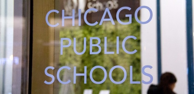 Chicago public schools window