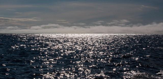 The Chukchi Sea is seen near Shishmaref, Alaska, in July 2015.