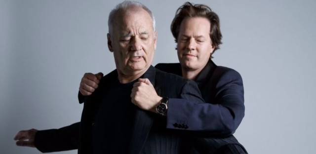 Bill Murray and Jan Vogler's album New Worlds is available Sept. 29. (Peter Rigaud/Courtesy of the artist)