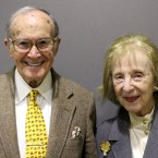 Newton and Josephine Minow recently visited the Chicago StoryCorps booth to talk about their love for the city.