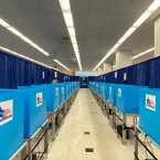 Chicago voting booths