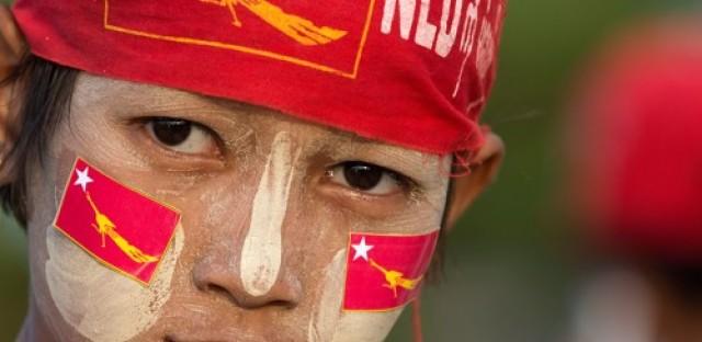 Aung San Suu Kyi in Burma (Myanmar) elections