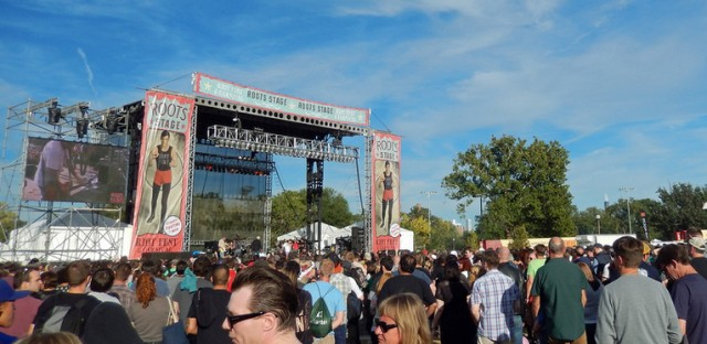 Riot Fest in 2013.