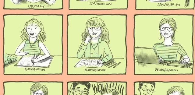 """Talent"" comic by LA Johnson"