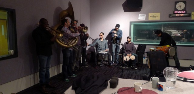 Indian marching band Red Baraat shakes up 'Eight Forty-Eight'