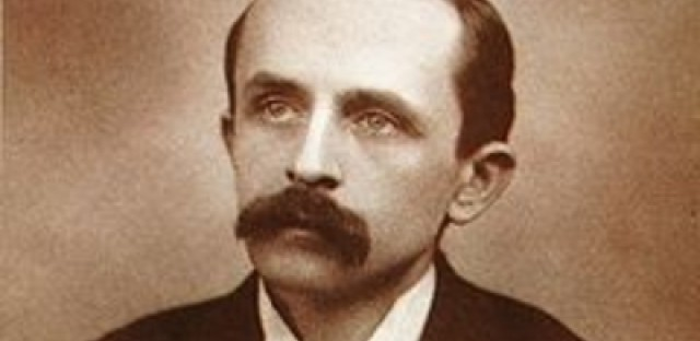 J.M. Barrie (photo courtesy of Rendition Theatre)