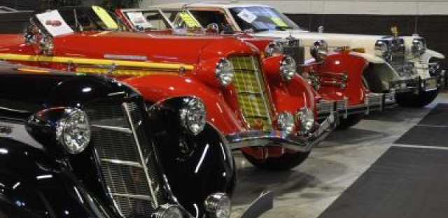 Real estate mogul displays classic car collection for the public