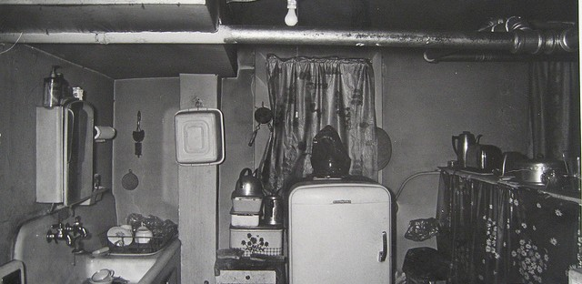 An Uptown apartment kitchen in 1967.